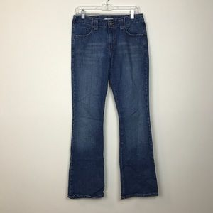 LEVI'S 525 boot cut dark wash size 6 jeans